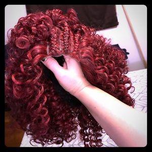 New Wig color burgundy❗️$25